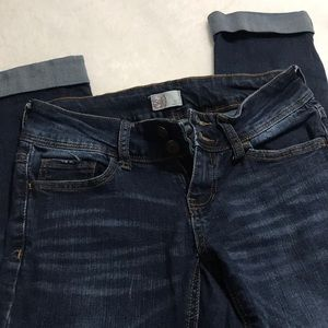 Juniors Size 3 SO Cropped Jeans